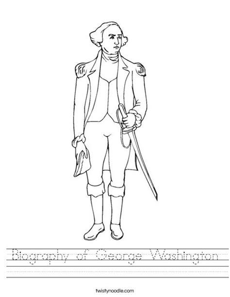 george washington printable biography biography of george washington worksheet twisty noodle
