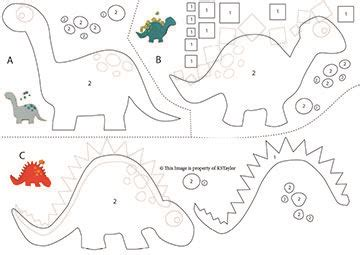 pattern for felt dinosaur 25 best ideas about dinosaur pattern on pinterest