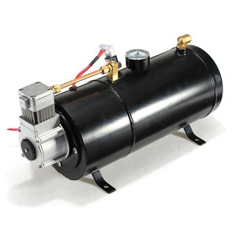 12psi 12 volt air compressor tank for air horns vehicle alexnld