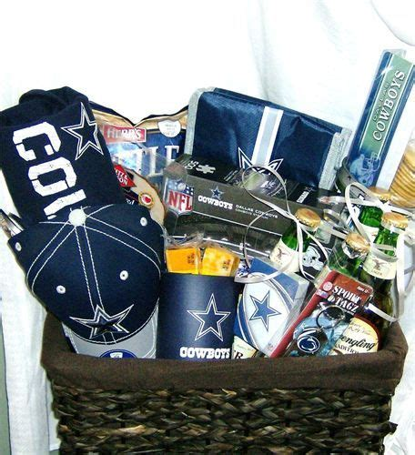 gifts for dallas cowboy fans dallas cowboy gift basket gifts pinterest gifts for
