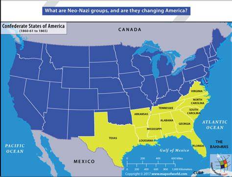 usa map confederate states what are neo groups and how are they changing america