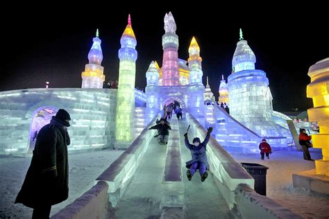 harbin ice festival image harbin international ice and snow festival china
