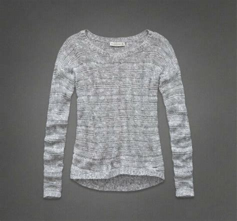 NWT Abercrombie and Fitch by Hollister Women's Abby ... Hollister Sweaters For Girls Grey