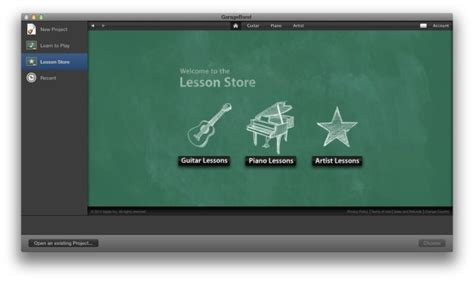 Garageband Lesson Store Learn To Play Like A Pro With Garageband For Mac Os X