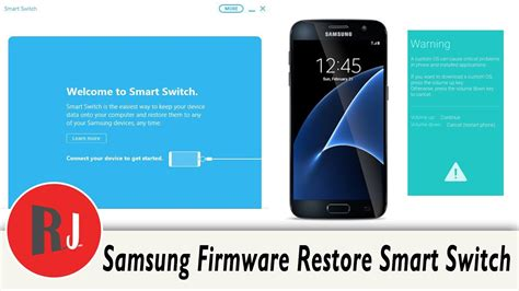 samsung mobile switch samsung device firmware restore with smart switch program