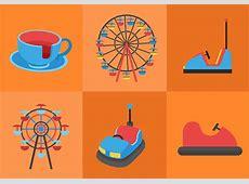 Amusement Park Ride - Download Free Vector Art, Stock ... Ferris Wheel Vector Free Download