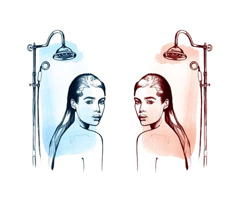 Shower Tips For Healthy Hair by This Is What Happens To Your When You Shower With