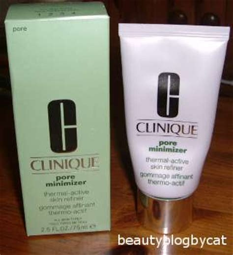 Clinique Pore Minimizer Does Work by Gloss Clinique Pore Minimizer Thermal