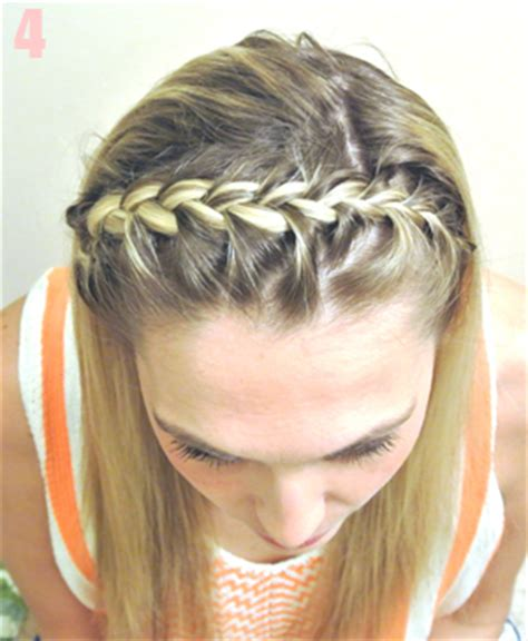 how to do a headband braid step by step simple perfect hairstyles french braided headband