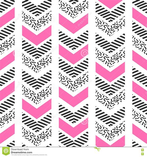 abstract patterns arrows seamless pattern stock herringbone abstract seamless pattern in memphis style