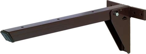folding table hinge bracket hafele folding table bracket 660mm brown shelving