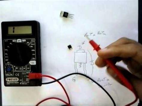 transistor mosfet como testar como testar um transistor mosfet fora da placa m 227 e