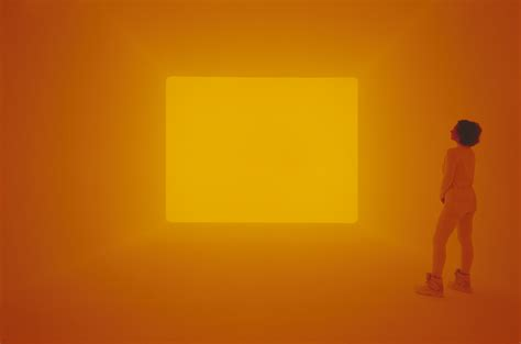 james turrell   neon light displays scene