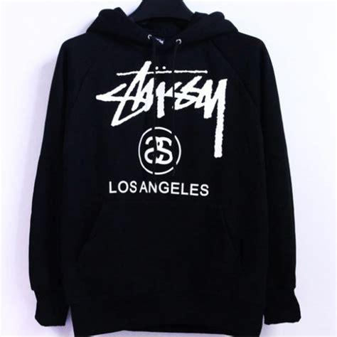 Sweater Basic Sleeve Sweatee Stussy sweater black hoodie black stussy sweater stussy