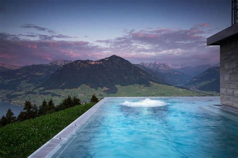 infinity hotel nyc are calling this rooftop infinity pool in the swiss