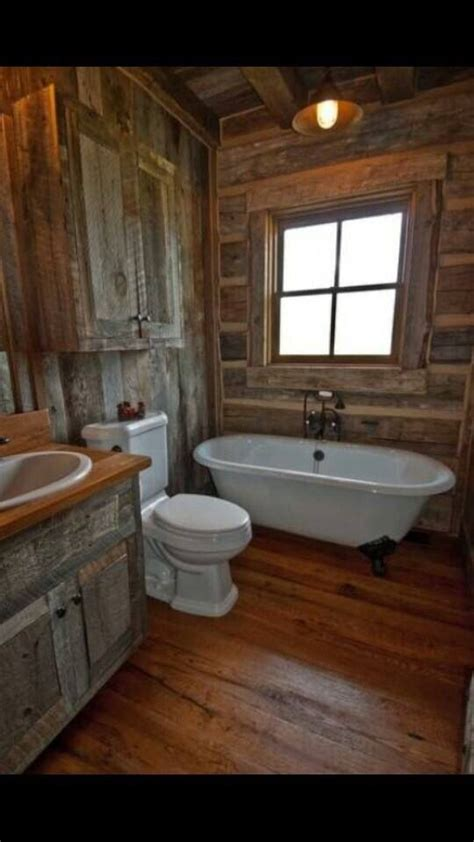 log cabin bathroom ideas 1000 ideas about cabin bathrooms on pinterest log cabin