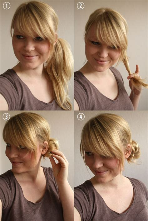 Wedding Hair Side Bun Tutorial by Hair Tutorial Side Bun By Wilma