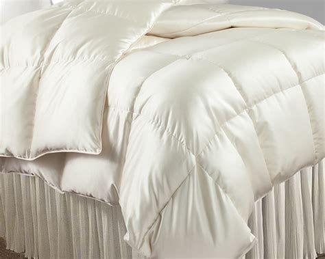 feather filled comforter down filled silk comforter downtown company