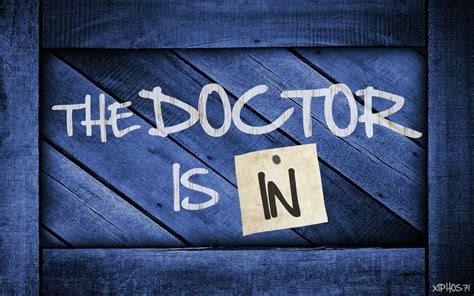 Is In by The Doctor Is In By Xiphos71 On Deviantart