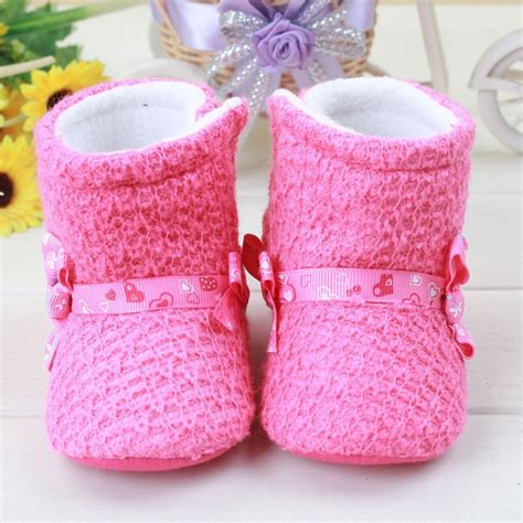 Prewalker Boot Pink 010280 Berkualitas aliexpress buy sweet pink baby keep warm winter shoes newborn bow prewalker