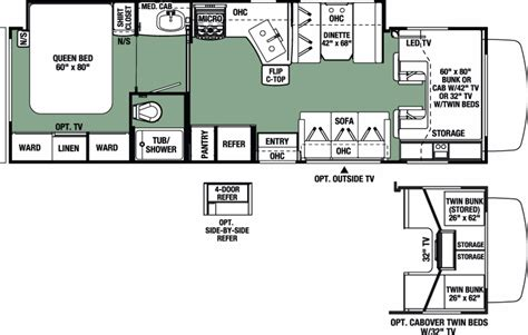 forest river floor plans 2017 forest river forester 3051sf cing world of