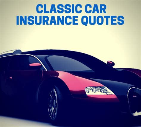 Best Car Insurance Quotes by Top 5 Best Classic Car Insurance Quotes 2017 Ranking
