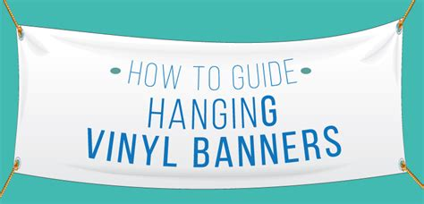 how to hang a picture hanging a vinyl banner outdoor event signage temporary