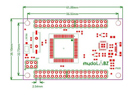 atmega breakout board rhydolabz rhydolabz india
