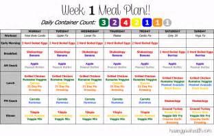 21 day fix meal plan chart butik work