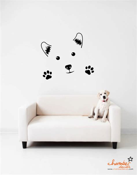 puppy wall decals wall decals images