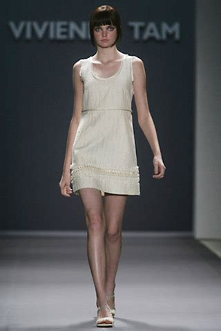 Vivienne Tam Fall 2007 Collection In New York by Vivienne Tam New York Summer 2007 Ready To Wear