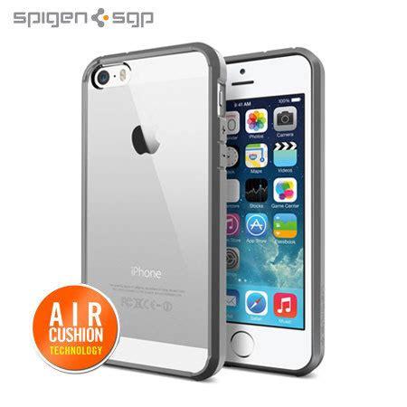Spigen Ultra Hybrid Bumper Iphone 55s Grey spigen sgp ultra hybrid for iphone 5s 5 grey mobilezap australia