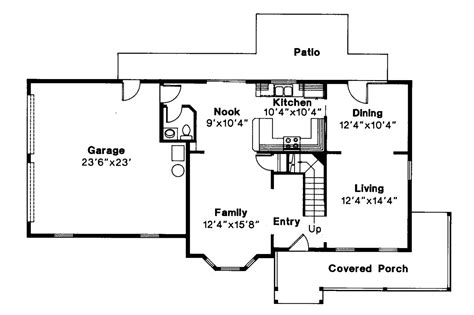 Country Kitchen Floor Plans by Country House Plans Sedgewicke 30 094 Associated Designs
