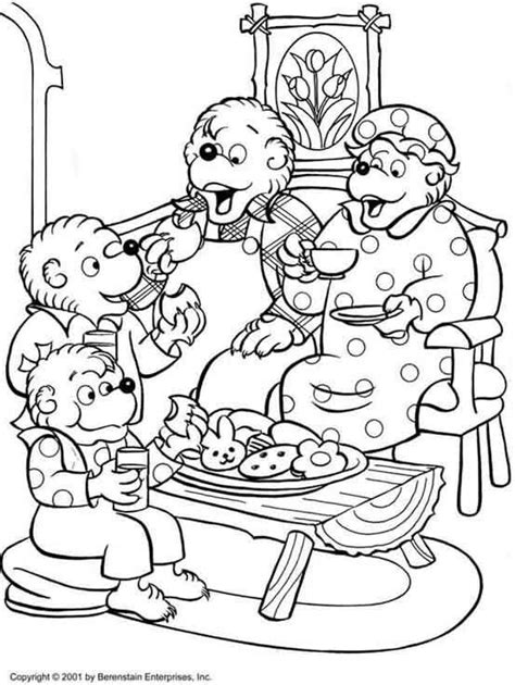 berenstain bear coloring page pin by april dikty on berenstain bears pinterest