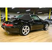 Find Used 1995 PORSCHE 911 CABRIOLET BLACK WITH ONLY