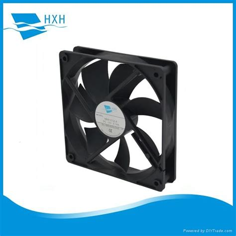 Fan Dc 12cm 24v 12cm 120mm 120x120x25mm dc axial brushless cooling fan 12v 24v dc 1225 hxh china