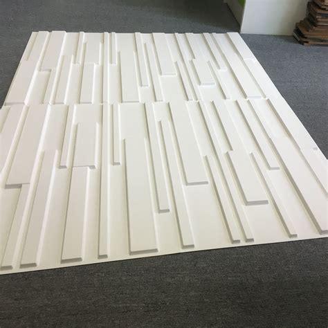 3d wall panel decorative pvc white brick design 3d wall panels 12 tiles