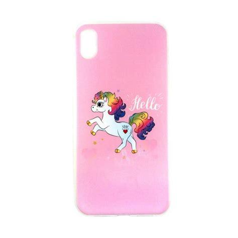 capa gel apple iphone xr unicorn hello kuantokusta