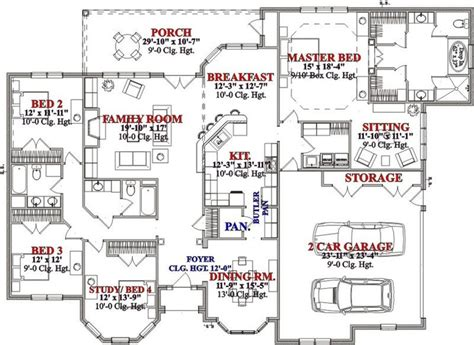 bed and breakfast house plans house plan 63 234 the floor plan features covered rear