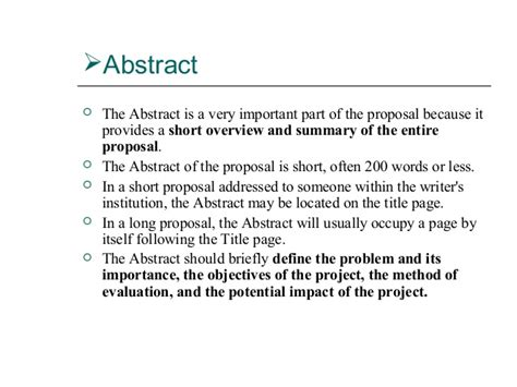 abstract thesis business abstract in a dissertation proposal college paper writing