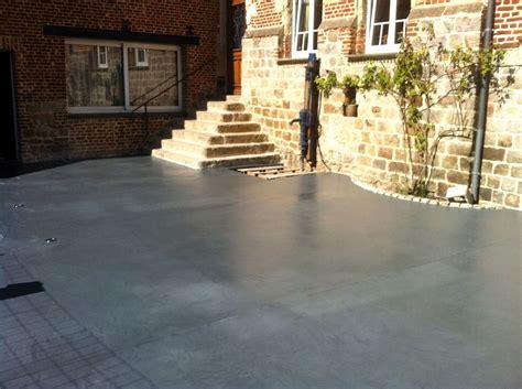 terrasse beton quel sol pour ma terrasse visitedeco
