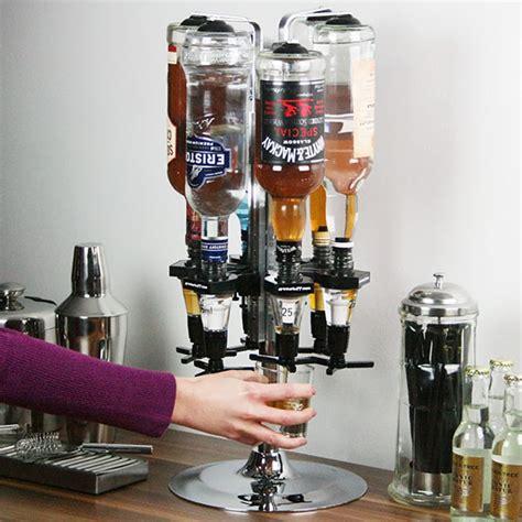 Eco Bottle Stand Many Stock deluxe chrome bottle carousel measures measure bracket