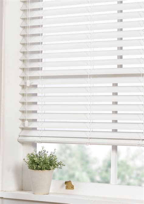 Ready Made Venetian Blinds by Faux Wood Venetian Blind White Contemporary Ready Made