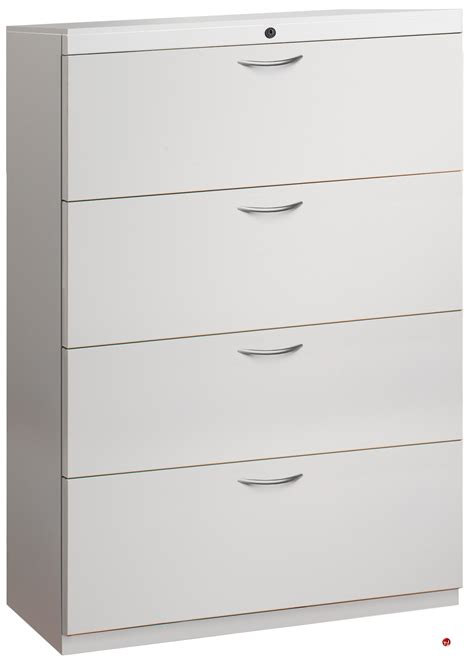 Metal Lateral File Cabinets 4 Drawer by The Office Leader 4 Drawer Trace Lateral File Storage
