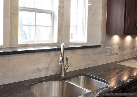 backsplash for black granite and white cabinets backsplash for black granite countertops and white