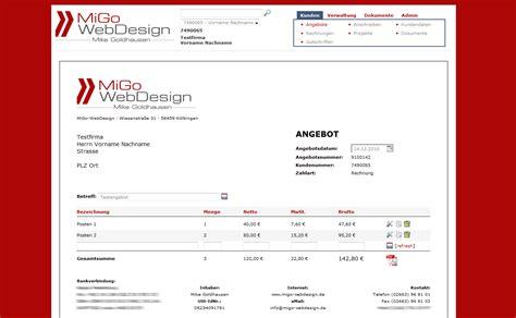 Rechnung Für Schweiz Mit Mwst Migo Webdesign Produkte