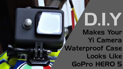 tutorial memakai gopro xiaomi makes your xiaomi yi waterproof case looks like gopro hero