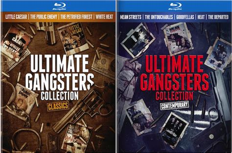gangster ultimate film collection ultimate gangsters collection blu rays a gangster s