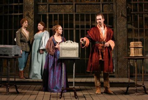 portias casket review of petas william portia placino review the merchant of venice first folio theatre