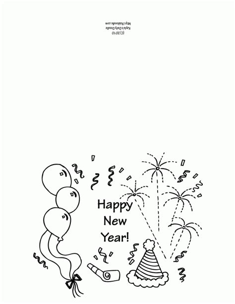 new year wishes template printable new year s greeting card template my